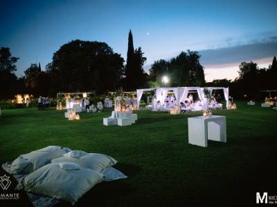 NOT ONLY WEDDING – WHITE PARTY VILLA ROSANTICA