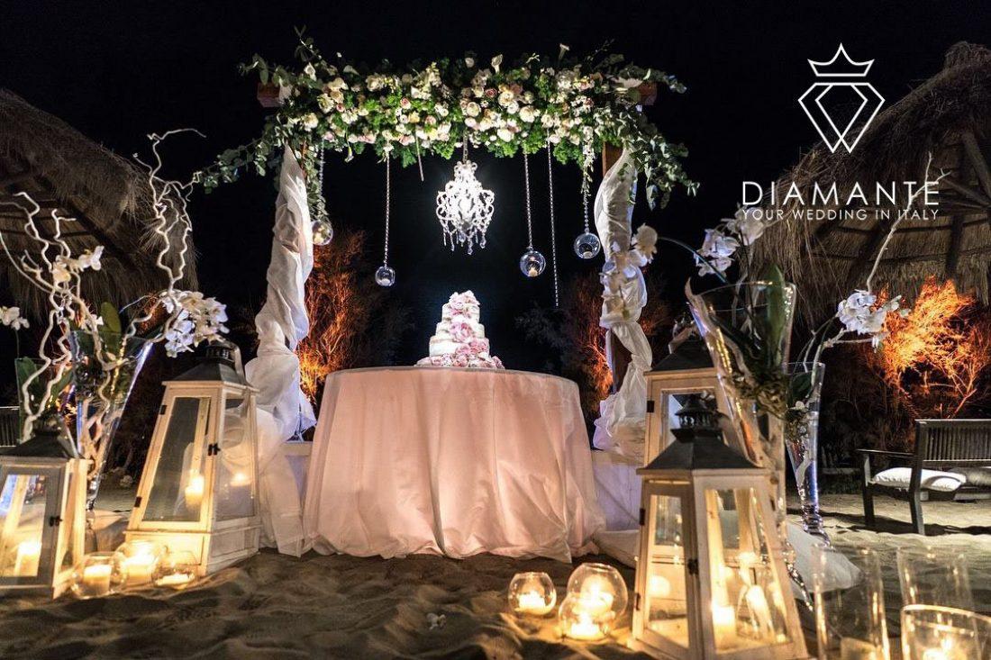 CAKE 2- WEDDING ON THE BEACH - ROME - CASTELLO MIRAMARE