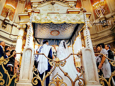 Jewish wedding ceremonies