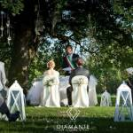 CERIMONIA - WEDDING PARTY - ROME - VILLA DI FIORANO - APPIA ANTICA