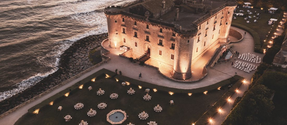 WEDDING ON THE ROMAN COAST: Odescalchi Castle in Palo Laziale
