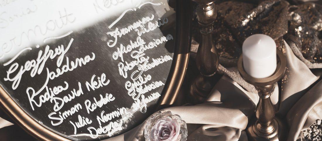 TABLEAU DE MARIAGE: 7 original ideas