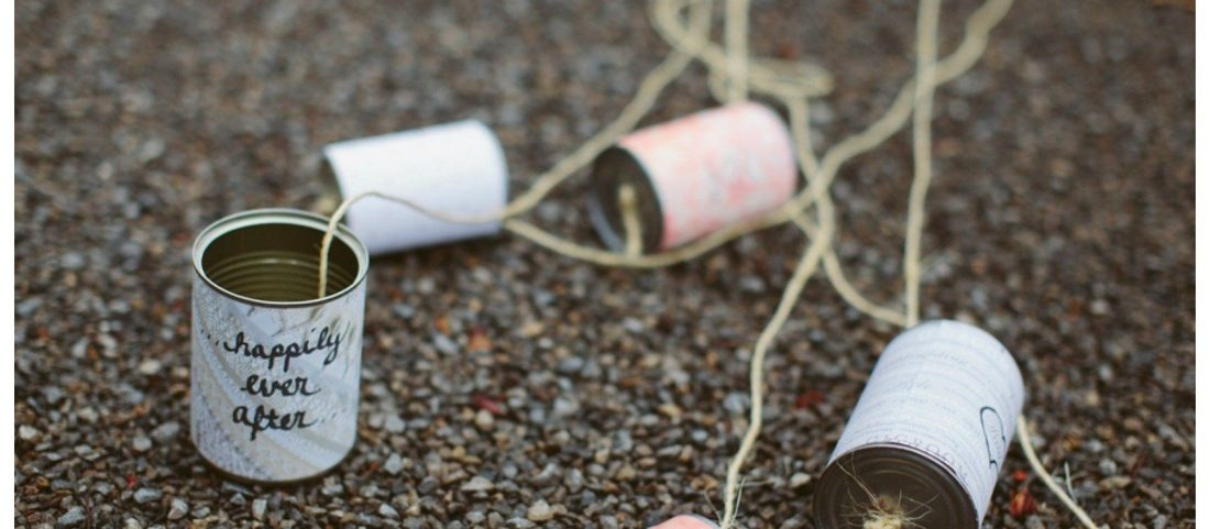 The tradition of wedding tin cans